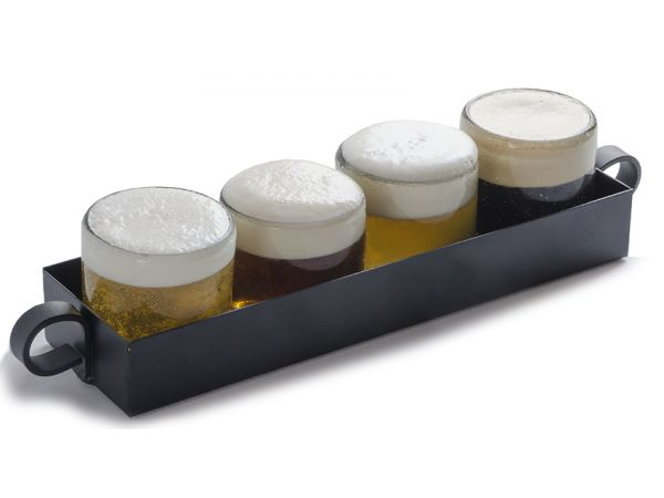 Rail Tray w/ Planet Friendly Recycled Glass
