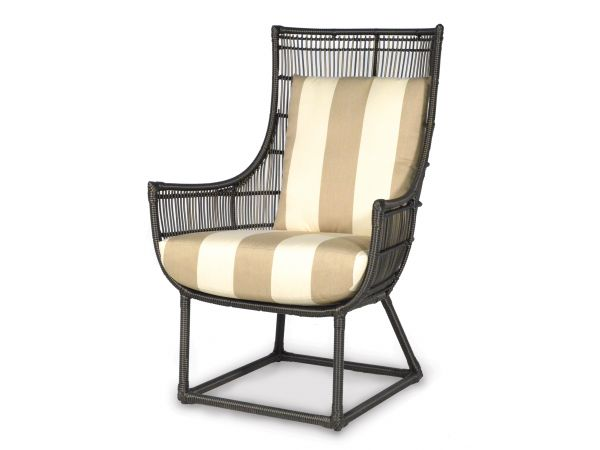 Verona Outdoor Lounge Chair, Espresso