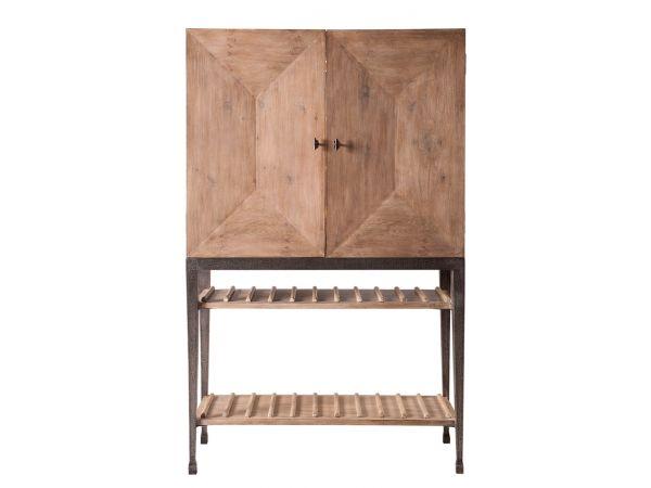 59-56 Aldrich Cabinet W/Wine Storage,Heather