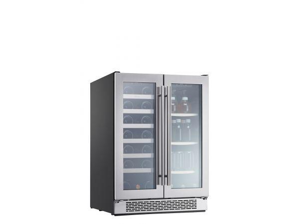 Presrv™ Dual Zone French Door Wine Cooler