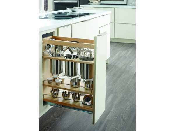 Diamond Base Utensil Pantry Pull-Out