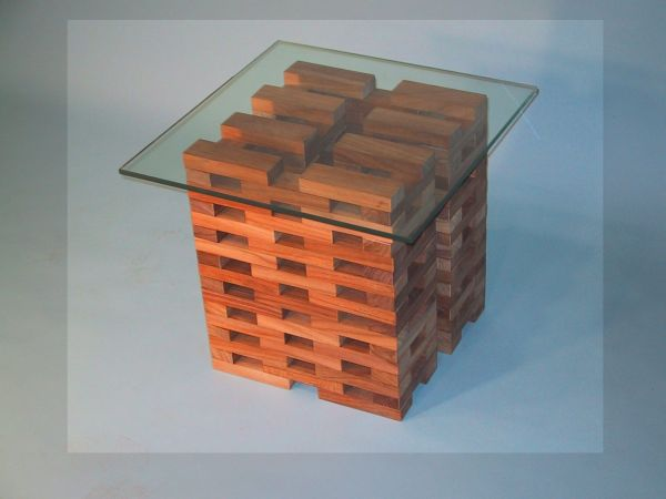 Infinity Teak Blocks come in any shape or size