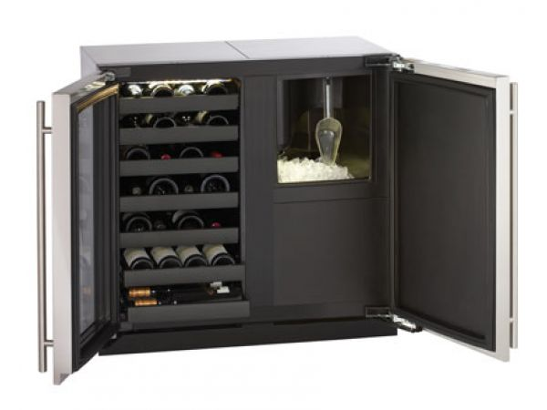 Modular 3000 Series 36 Custom Wine Captain Model / Clear Ice Machine - 3018WC/3018CLR