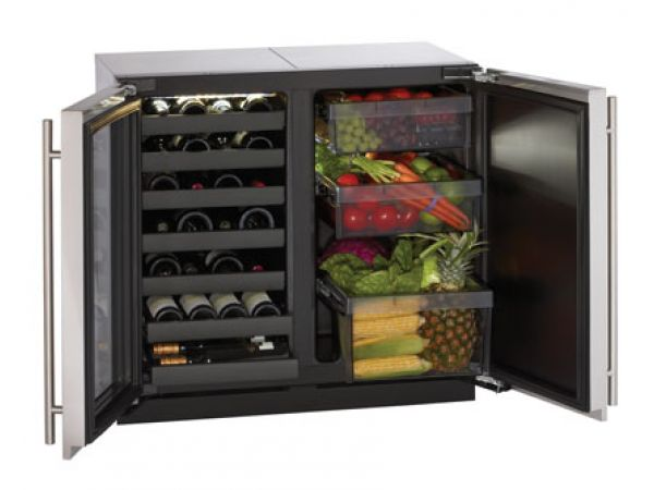 Modular 3000 Series 36 Custom Wine Captain Model / Solid Door Refrigerator - 3018WC/3018RF