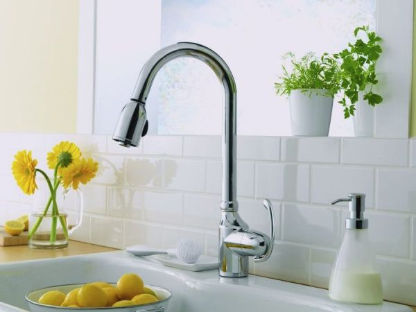 Anu Pull-down Kitchen Faucet