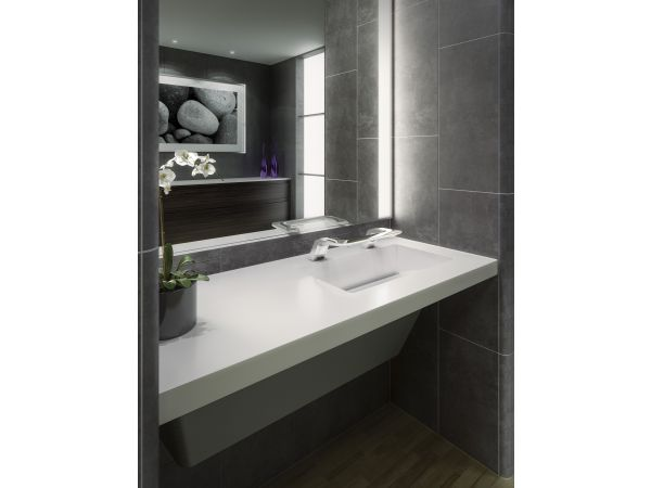 OmniDeck with WashBar