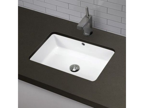 1482-CWH Undermount Rectangular Bathroom Sink