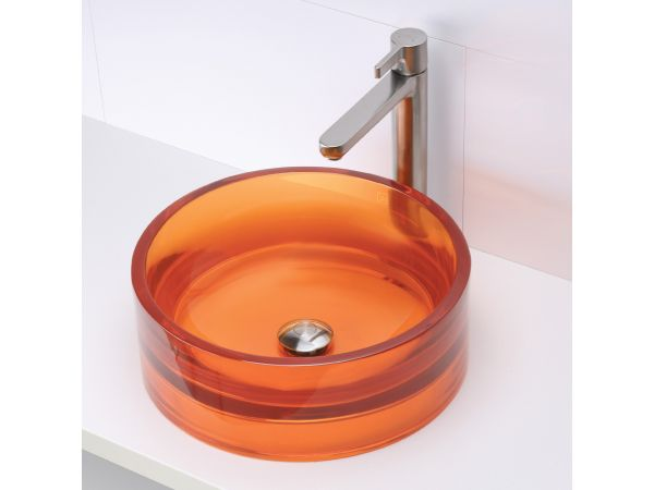 2806 Round Above-Counter Resin Lavatory