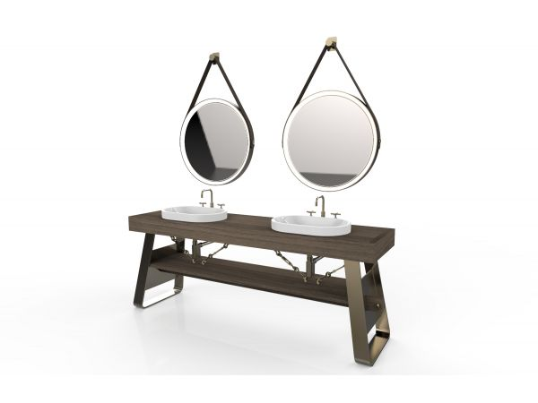 Industrial Bathroom Vanity