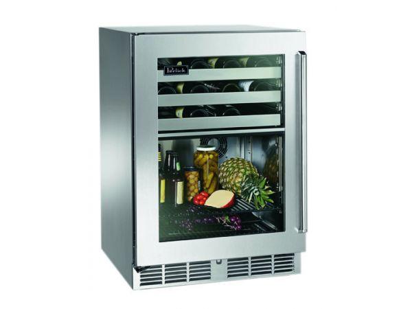 Perlick 24 Dual-Zone Refrigerator/Wine