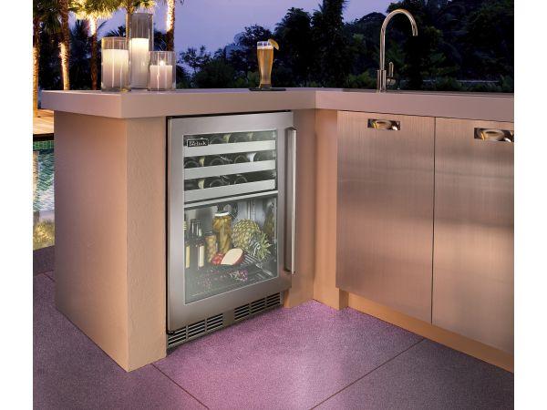 Perlick Outdoor 24 Dual-Zone Refrigerator/Wine Reserve