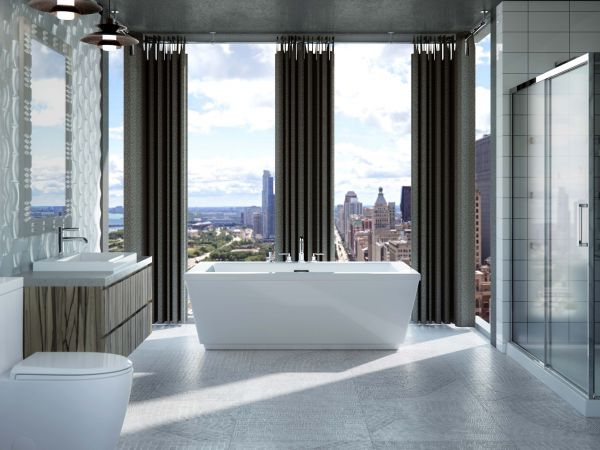 Frankfurt Freestanding bathtub