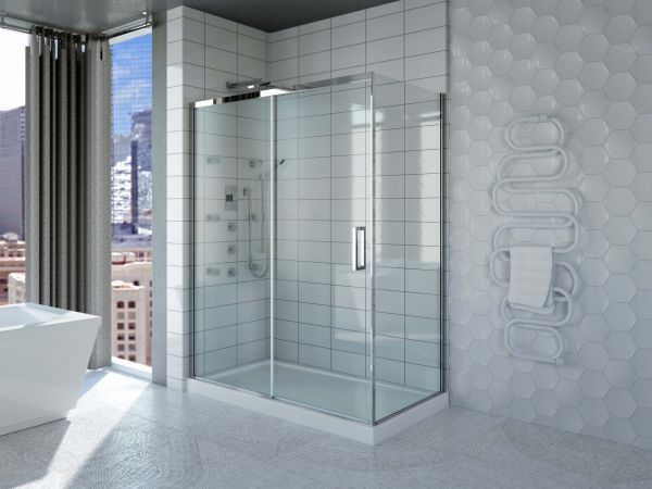 Sella shower door