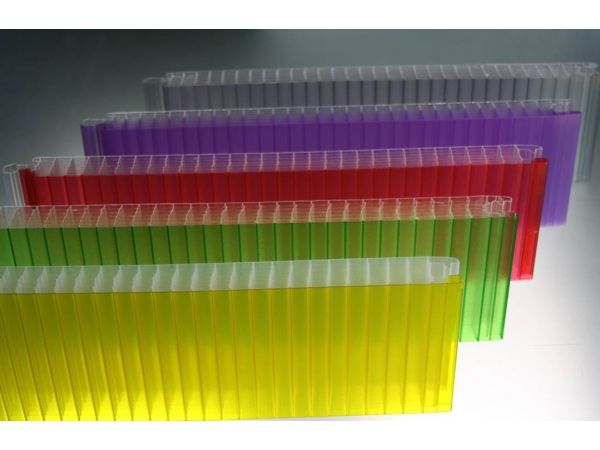 Multi-color Translucent Glazing System