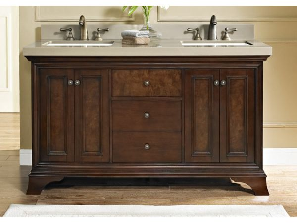 Newhaven 60 Double Bowl Vanity