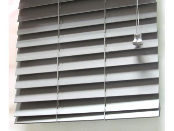 Designers Choice 2 Inch Horizontal  Wood Blind in Graphite