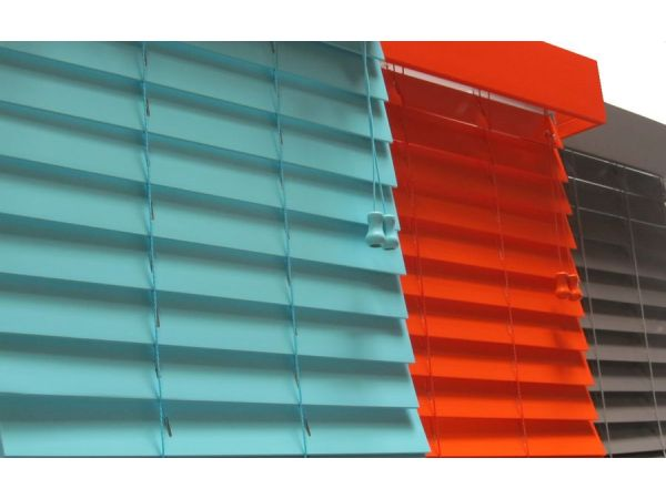 Designers Choice Colored 2 Inch Horizontal Wood Blinds
