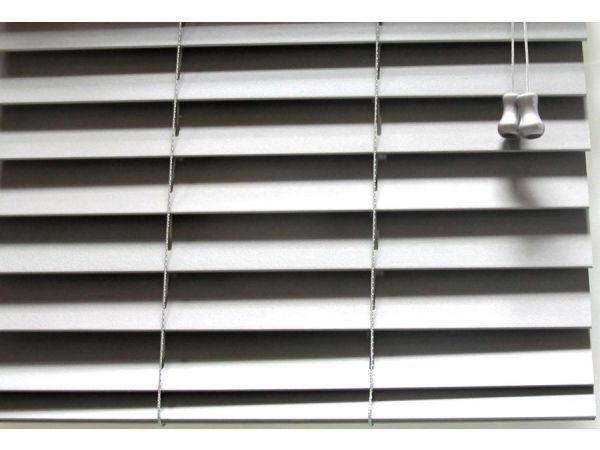 Metalic 2 Inch Horizontal Wood Blind