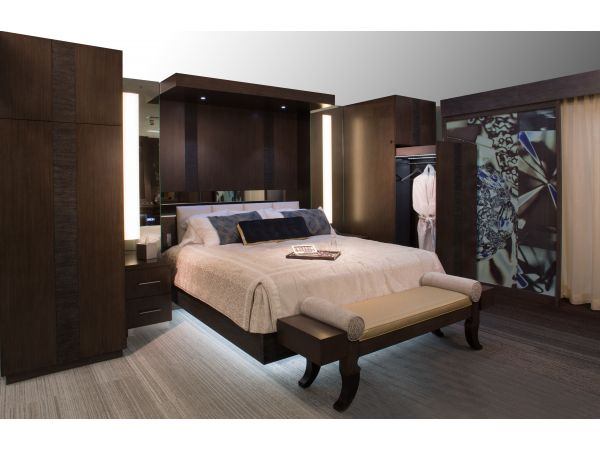 Luxury Headboard/wardrobe unit