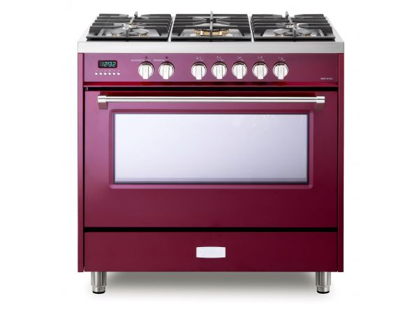 "Designer series Dual Fuel and Induction 36"" ranges"