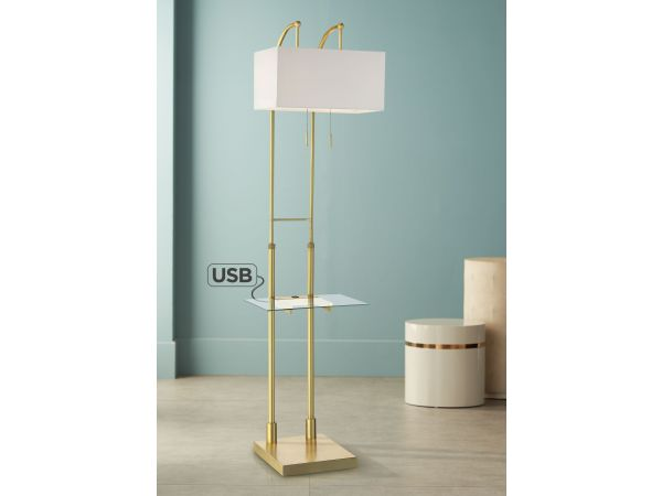 Tori Crystal Accent Table Lamp