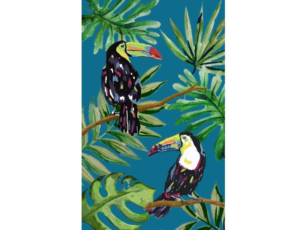 Tropical Toucan Blue
