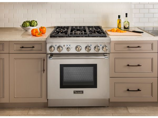"Thermador 30"" Five-Burner Pro Harmony® Range"