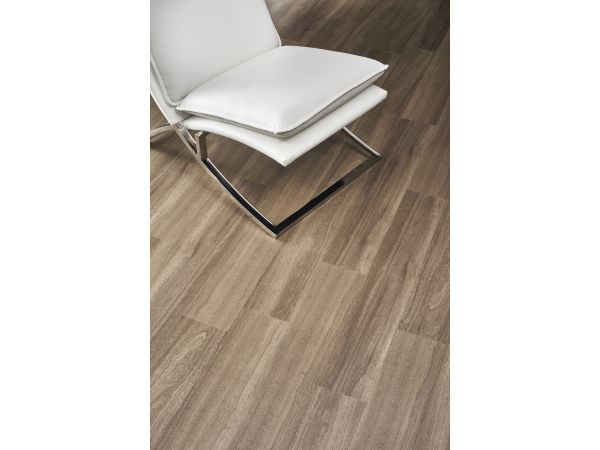 InGrained Luxury Vinyl Plank: Modern Teak