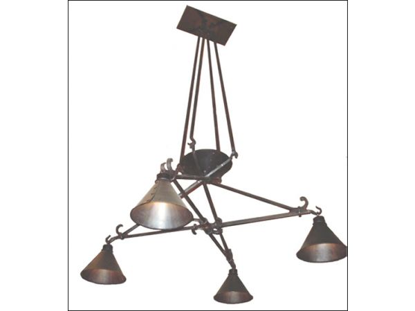 Forged Iron Chandelier #12