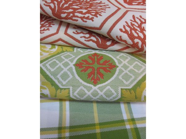 Seascape Catalina Palm Beach Plaid