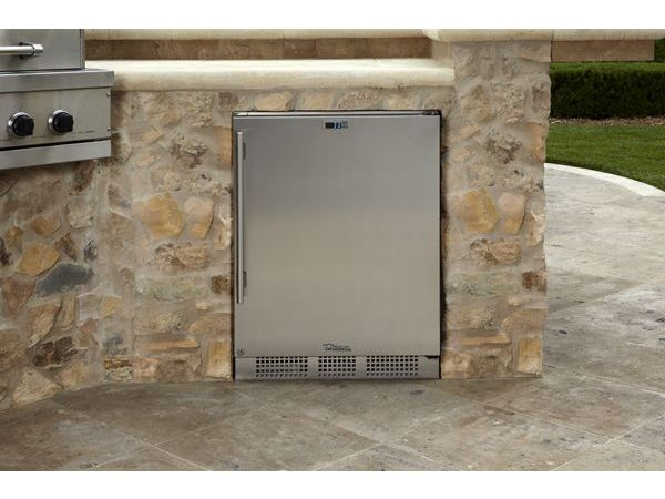 True Refrigerator Solid Door Stainless