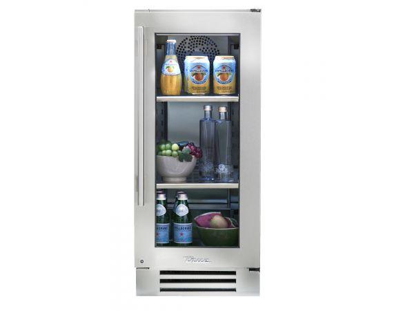 True 15-inch Undercounter Refrigerator Stainless Steel