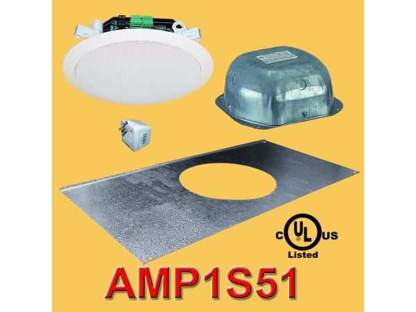 AMP1S51 Amplified Ceiling Speaker Package