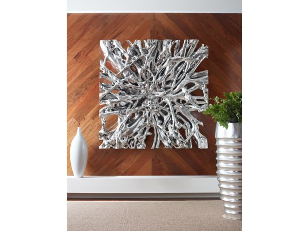 Square Root Wall Sculpture