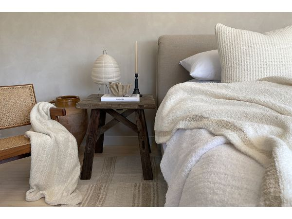 Kashwére Stripe Queen Blanket