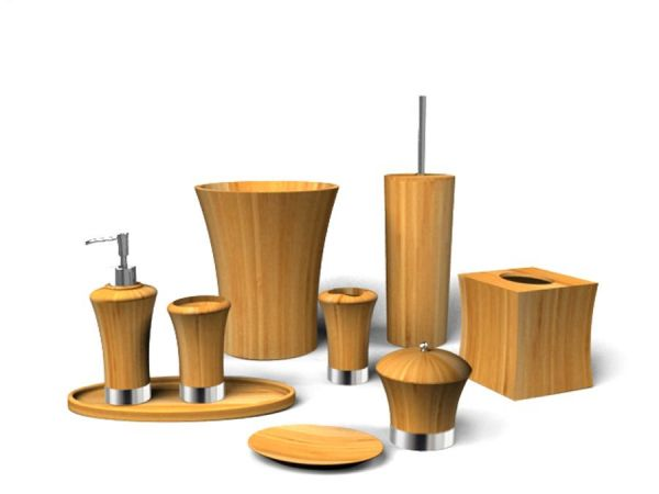 Bamboo Bath Set - Concave Design