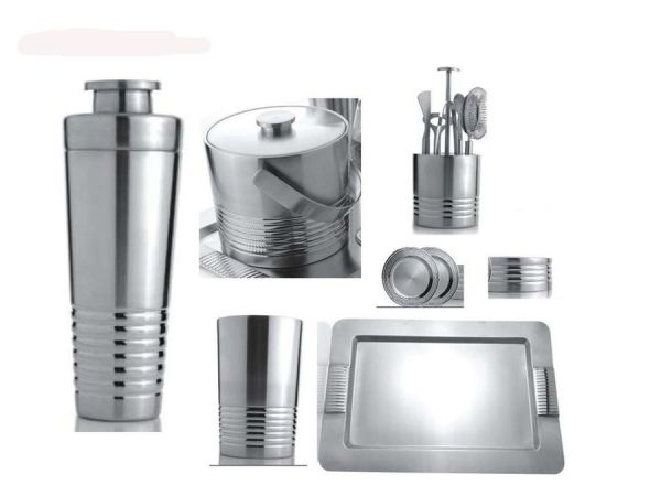 Ridgeway Stainless Steel Bar Set