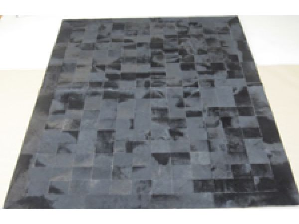 Patchwork Rug 7 Black