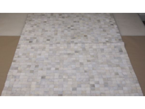 Patchwork Rug 8 White