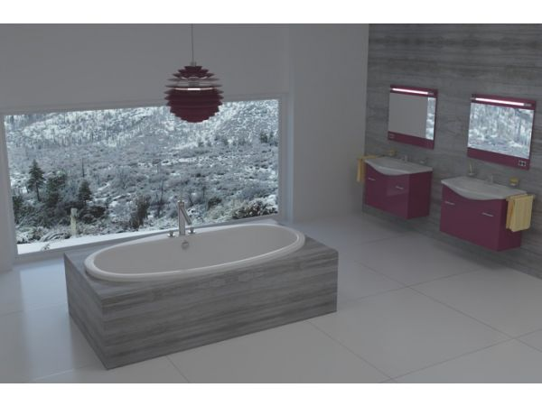 Snow Luxury Tub from Americh