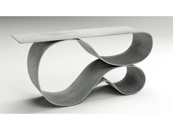 Whorl Console by Neal Aronowitz