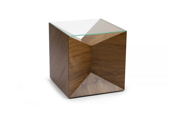 Vertex Cube Side table by Studio Klager