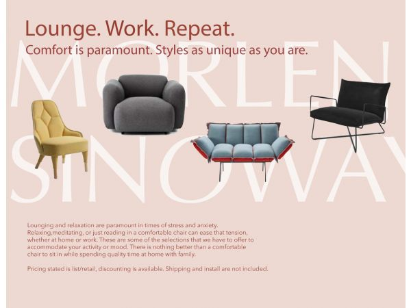 Lounge. Work. Repeat.