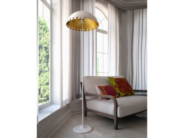 Quito Floor Lamp White