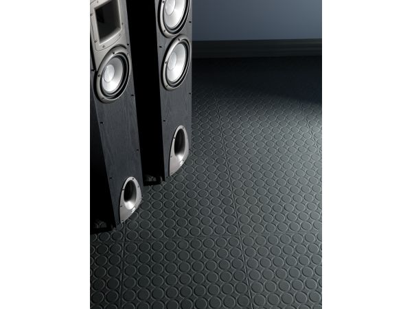 Distinct Designs Rubber Tile – Radial III Design