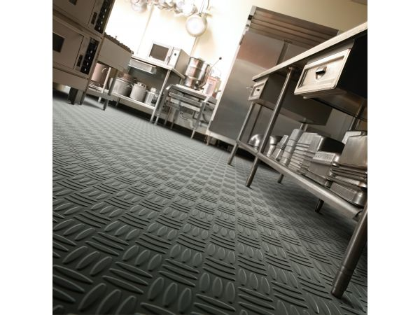 Distinct Designs Rubber Tile - Weave