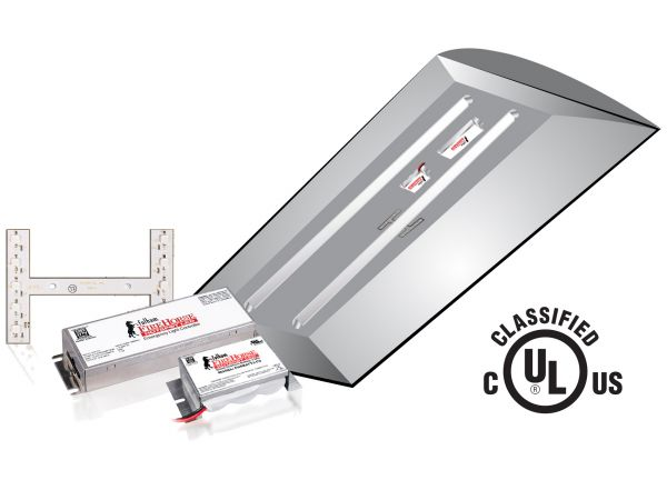 FireHorse HotSpot1 LED Emergency Lighting Kits for Troffers