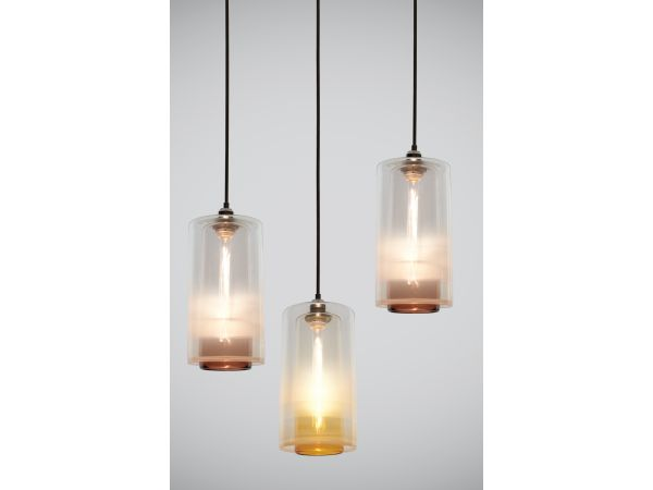 Nested Cylinder Pendants