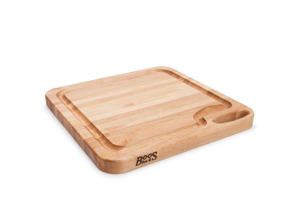 Chop-N-Serve Board with juice groove & handle