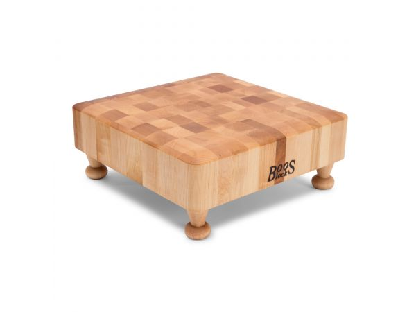 End Grain Chopping Blocks With Feet